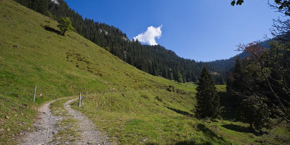 Auf dem Weg zum Grünenbergpass