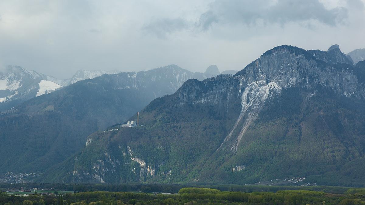Fahrt ins Wallis