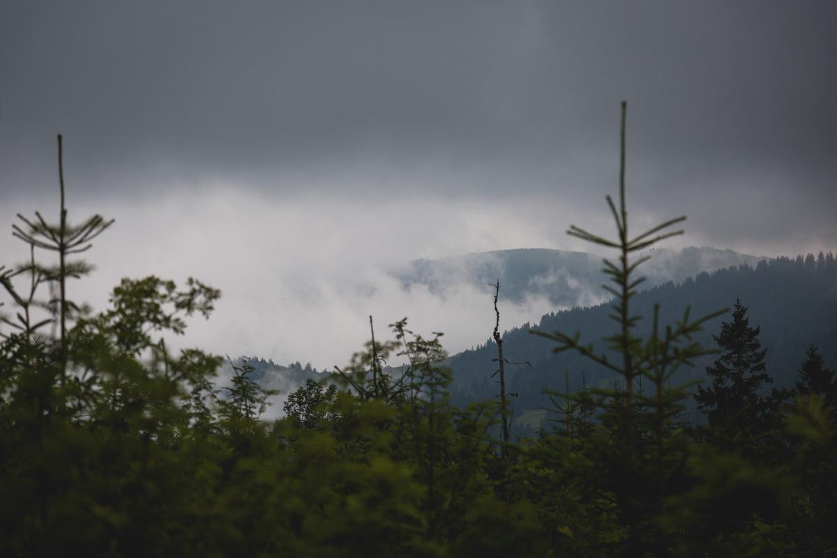 Wolken im Gantrischgebiet